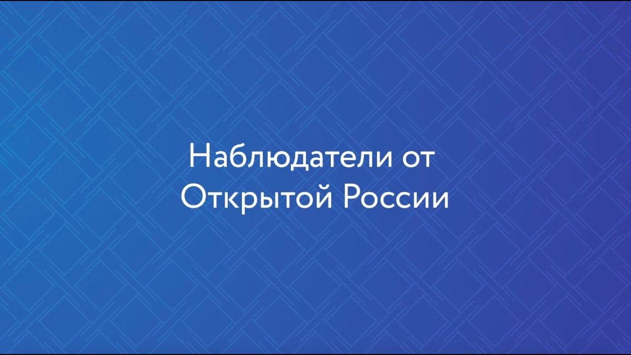 Наблюдатели «Открытой России»