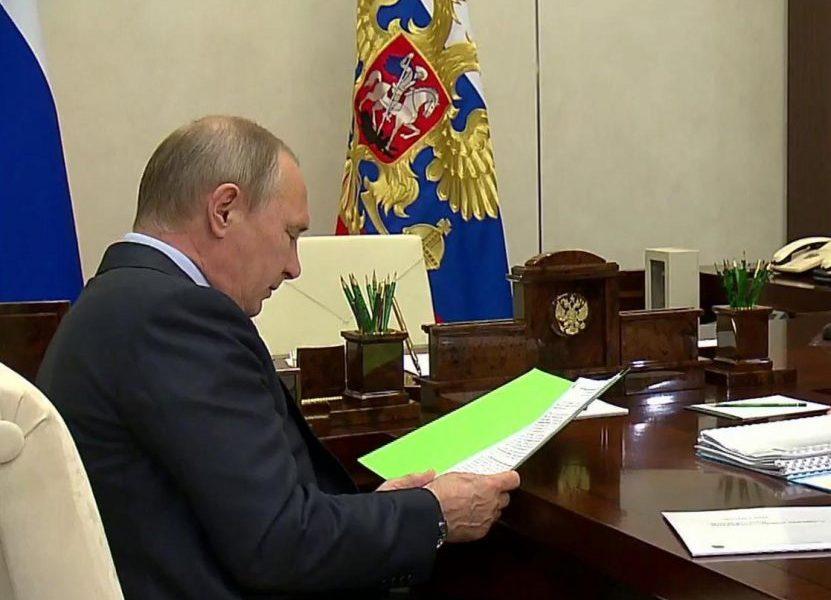 Путину будут докладывать о настроении в журналистской отрасли