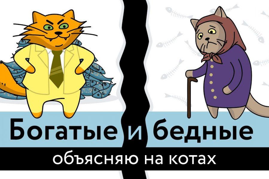 Богатые и бедные: объясняю на котах