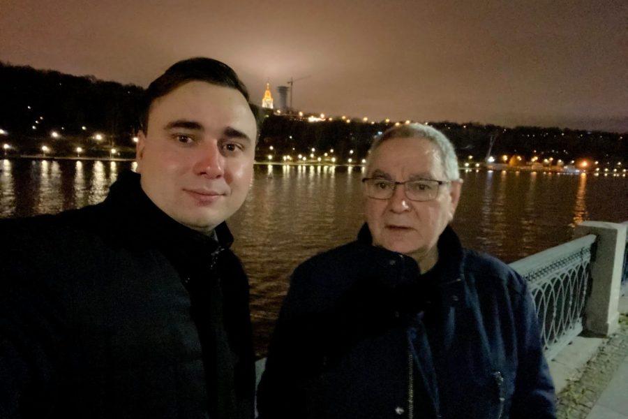 У Ивана Жданова арестовали отца
